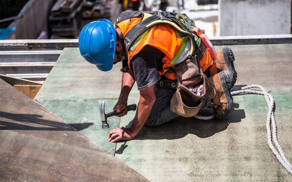 Blue Collar Insurance for construction worker